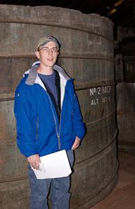 photo of Ed Niles at distillery